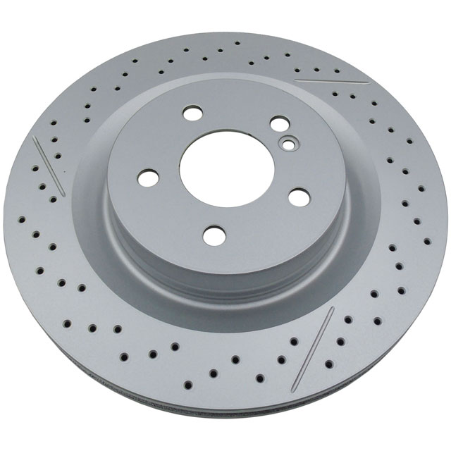 Hi-Performance Slotted and Drilled Rotor